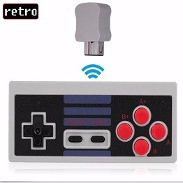 Wireless Game Controller Gamepad for NES