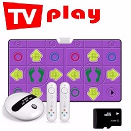 2.4G Wireless Dance Pad with 8GB Memory