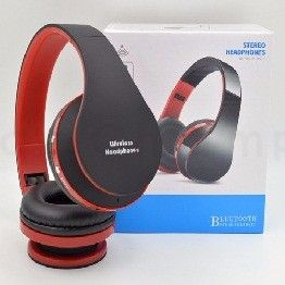 Bluetooth Over-Ear Headset with Deep Bas